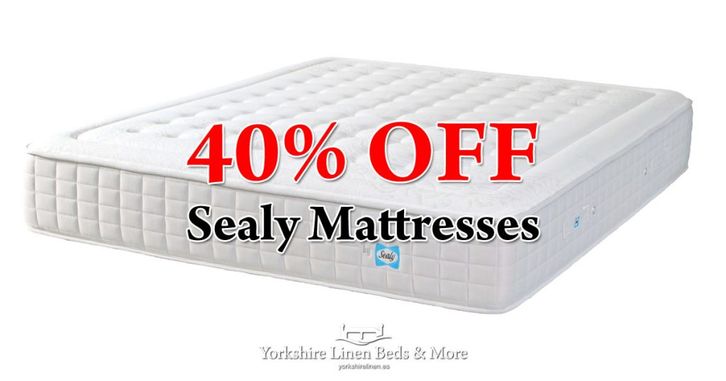 40pc Off Sealy Mattresses - Yorkshire Linen Beds & More Mijas Costa Marbella OG03