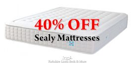 40% OFF Sealy Mattresses!