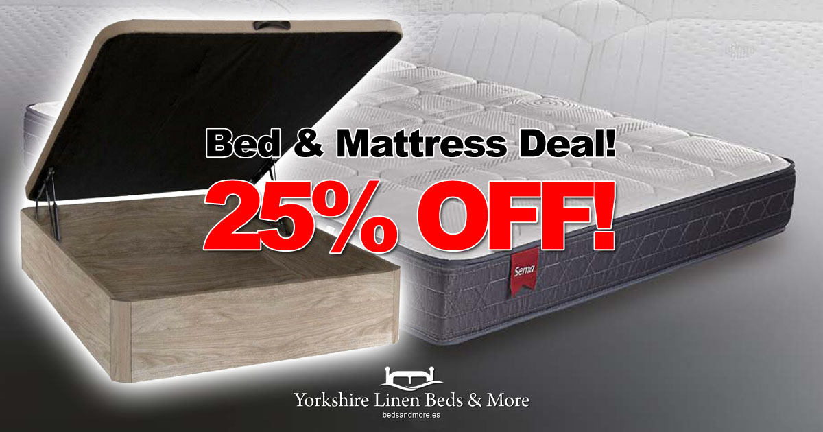 25% OFF Bed & Mattress Offer