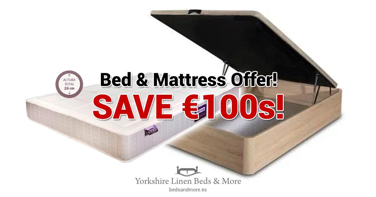 Bed & Mattress Offer!  SAVE €100s!