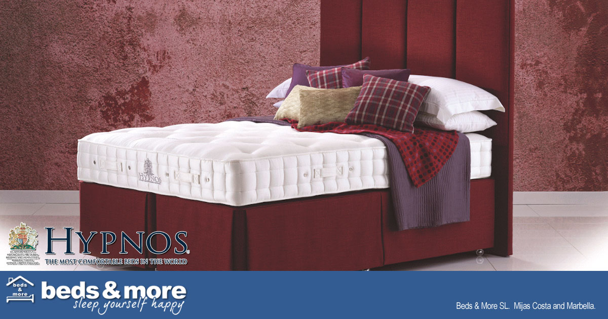 Hypnos Carey Bed from Beds & More, Fuengirola, Mijas Costa, Spain