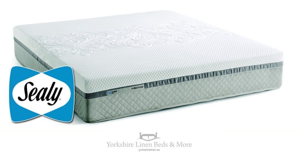 Sealy Hybrid Plush Mattress Yorkshire Linen Beds & More Mijas Costa Marbella OG01