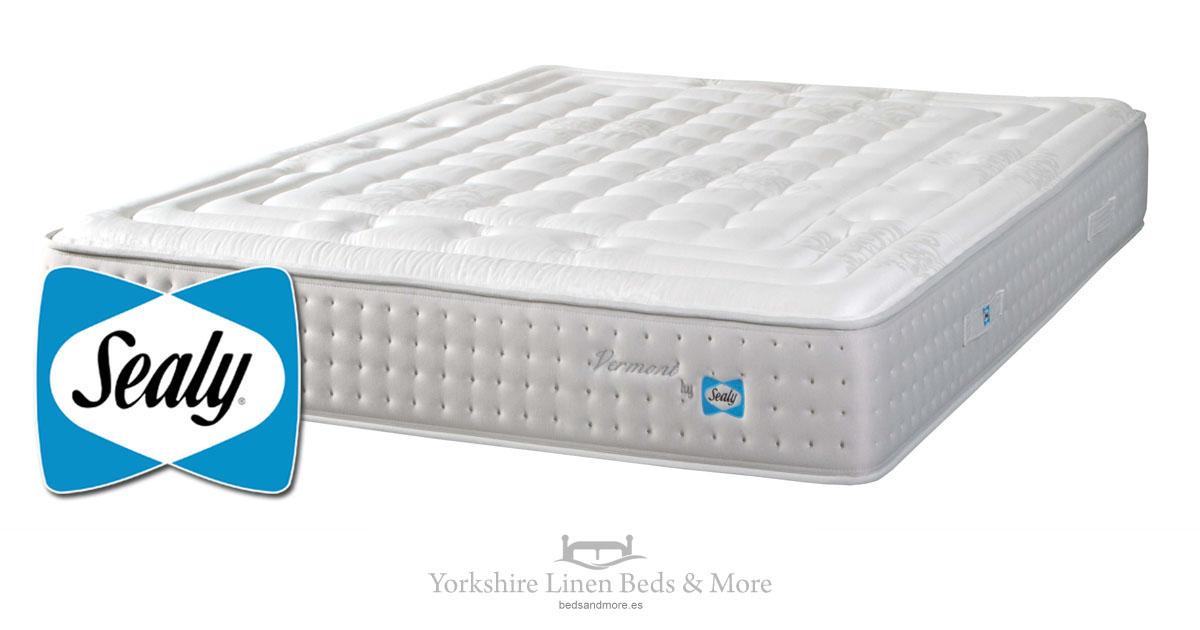 Sealy Vermont Mattress Yorkshire Linen Beds & More Mijas Costa Marbella OG01