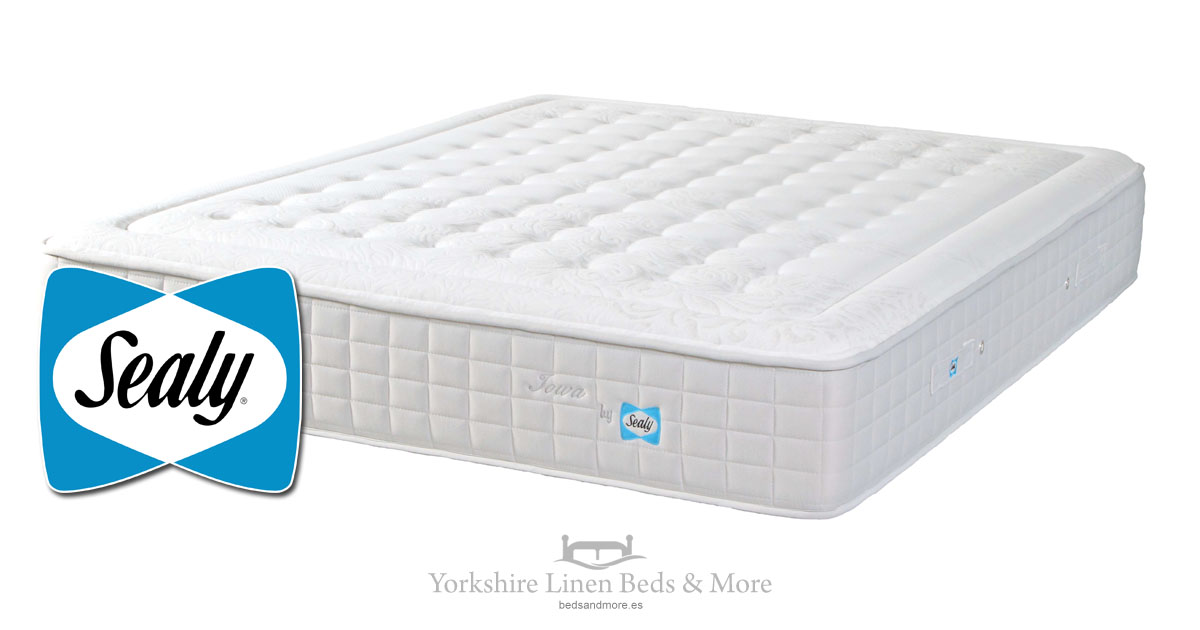 Sealy Iowa Soft Mattress - Yorkshire Linen Beds & More Mijas Costa Marbella OG02
