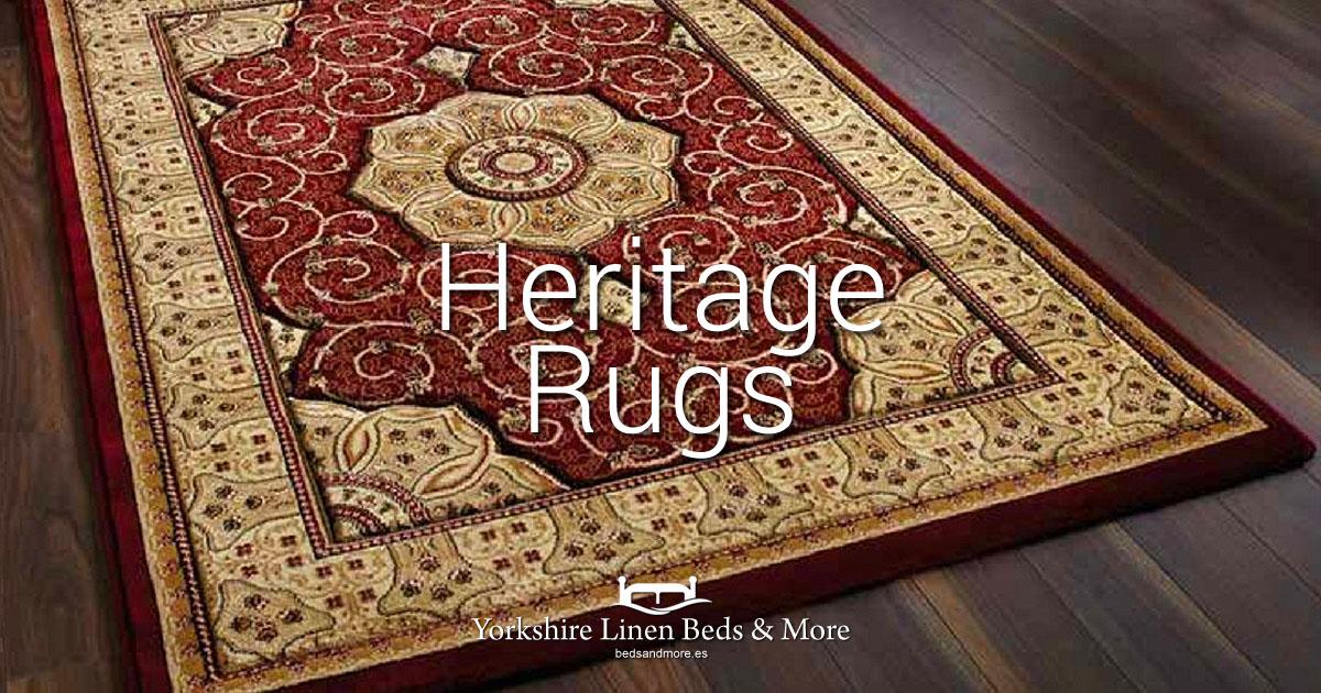 Heritage Traditional Rugs Yorkshire Linen Beds & More OG01