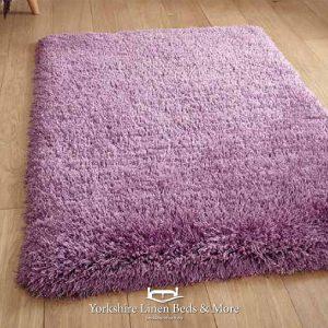 Montana Shaggy Purple Rug