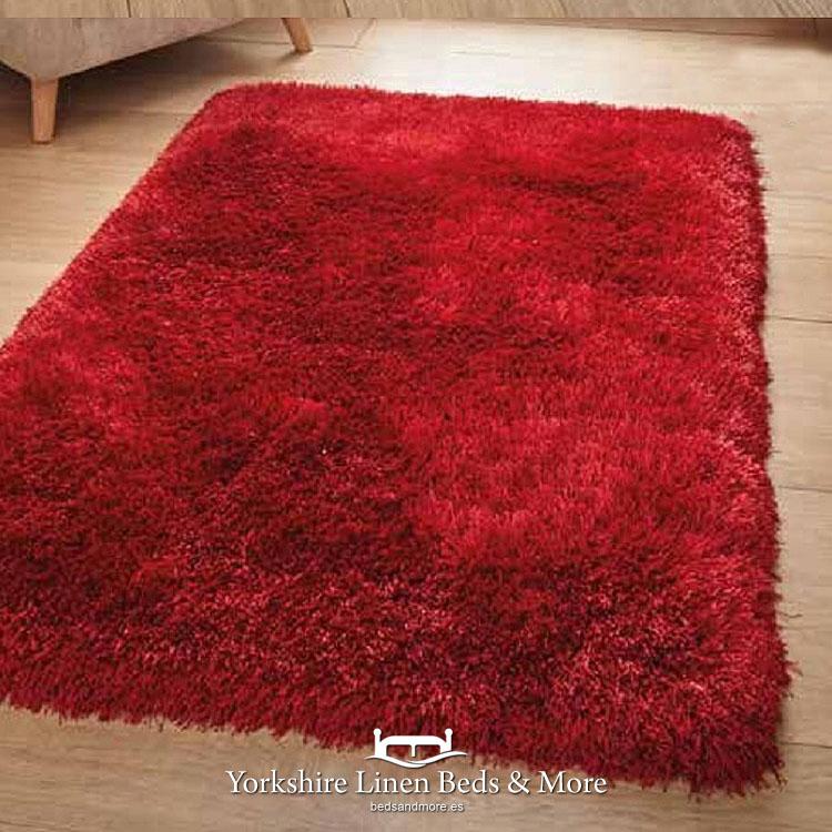 Montana Shaggy Red Rug