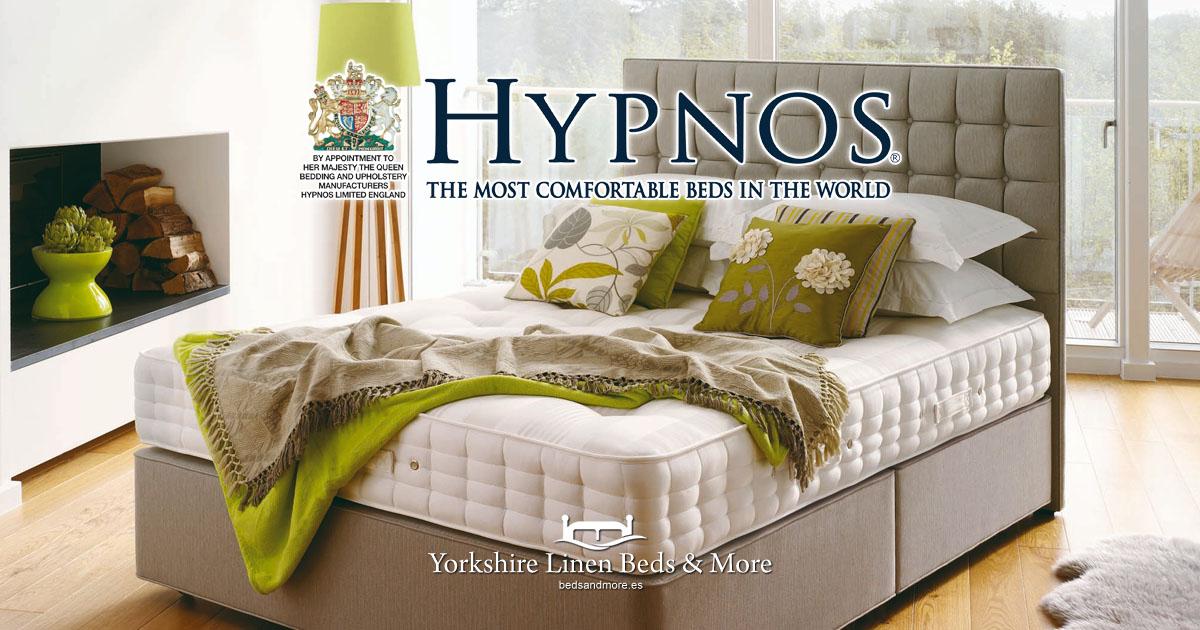 Hypnos Beds from Yorkshire Linen Beds & More Mijas Costa Marbella OG01
