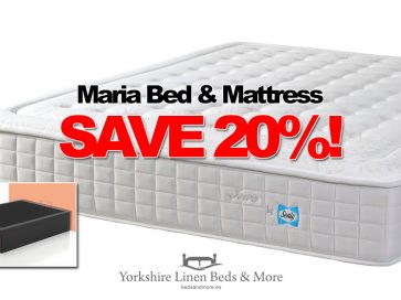 Maria Storage Bed & Sealy Iowa Pocket Sprung Mattress