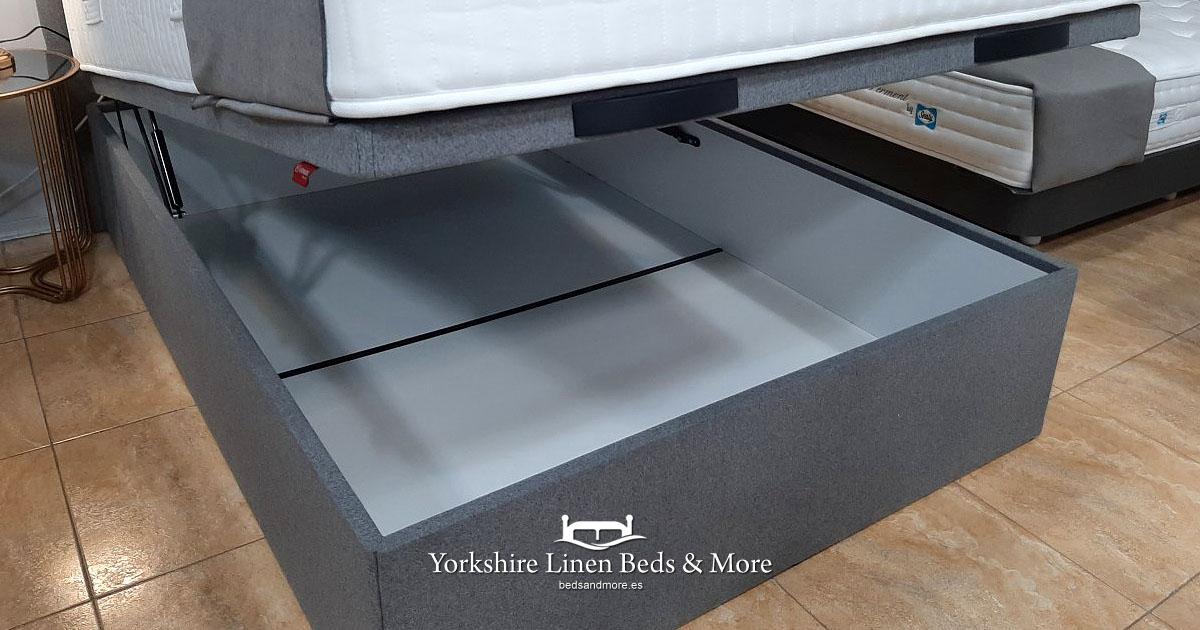 Maria Storage Bed - Yorkshire Linen Beds & More OG01