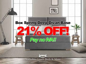 Box Spring Deep Divan Base – SAVE 21%!