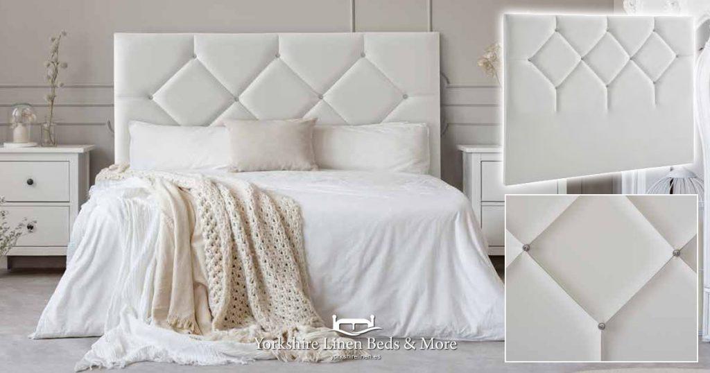 Canada Headboard Yorkshire Linen Beds & More Mijas Costa Marbella OG02