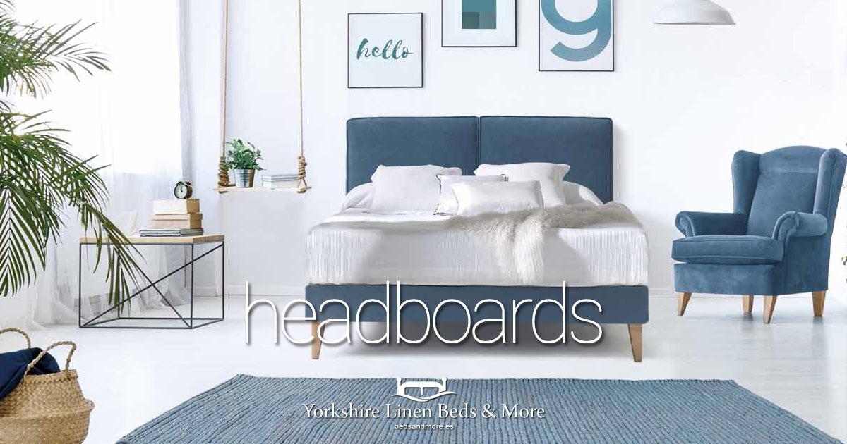 Headboards from Yorkshire Linen Beds & More Mijas Costa Marbella OG01
