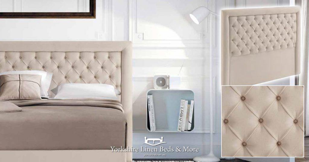Mikonos Headboard Yorkshire Linen Beds & More Mijas Costa Marbella OG02