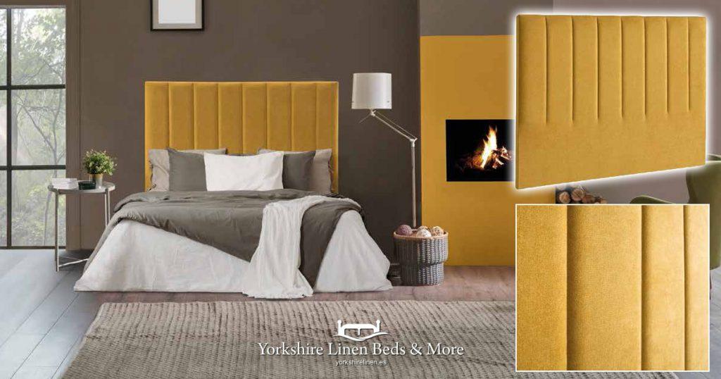 Oslo Headboard Yorkshire Linen Beds & More Mijas Costa Marbella OG02