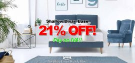 Shallow Divan Base