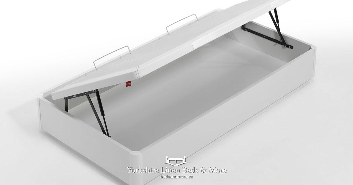 Alan Side Opening Storage Bed Base - Yorkshire Linen Beds & More OG01
