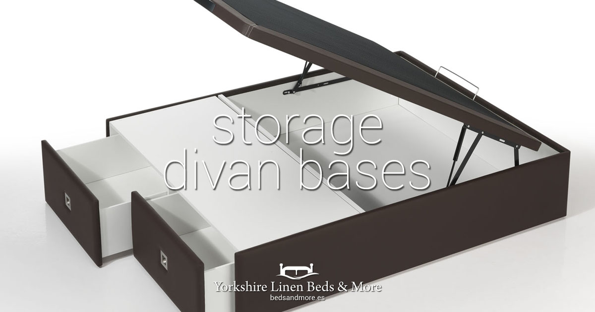 Storage Divan Bed Bases Yorkshire Linen Beds & More OG01